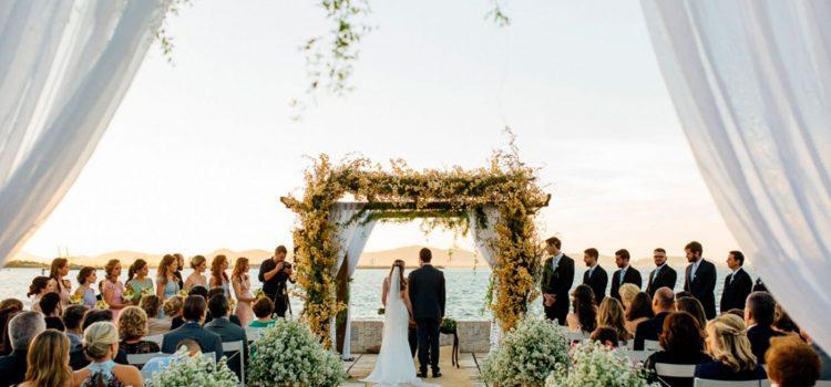 Convidar um amigo para celebrar o casamento