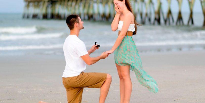 Pedido de casamento em 4 etapas