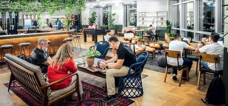 8 tipos de escritórios de coworking: aluguel de escritórios à sua disposição